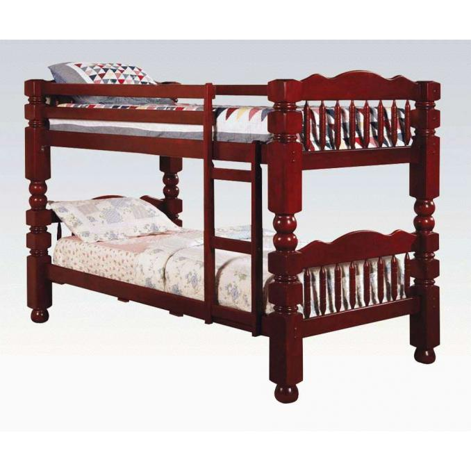 Benji Traditional Twin over Twin Bunk Bed /02570A