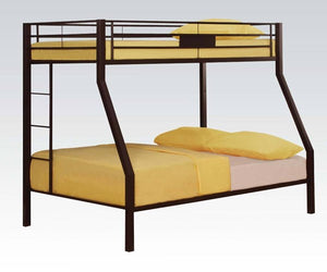 Limbra Brown Twin/Full Bunk Bed 37510