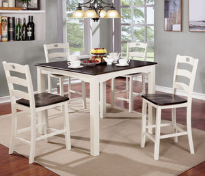 LILIANA 5PC COUNTER HT. TABLE SET