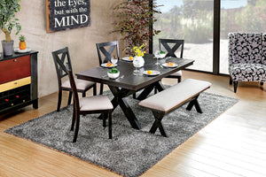 XANTHE /  6PC DINING TABLE  SET       CM3172T