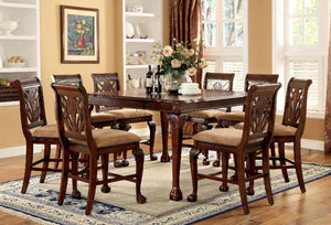 PETERSBURG II  / 7PC COUNTER HT. TABLE  SET