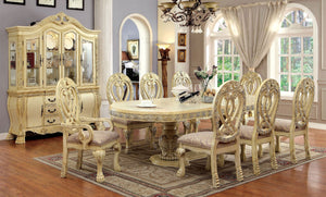 7pc Wyndmere Dining Set in (Antique White)