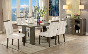 LUMINAR I  / 7PC /DINING TABLE SET/    CM3559GY-T