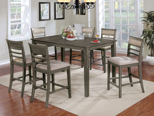 FAFNIR 7 PC. COUNTER HT. TABLE SET     |     CM3607PT-7PK