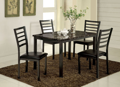 COLMAN 5PC / DINING TABLE  SET   CM3615T