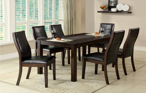 TOWNSEND I 7PC /  DINING TABLE   SET  CM3669T