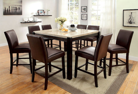 GLADSTONE II . 7PC COUNTER HT. TABLE SET