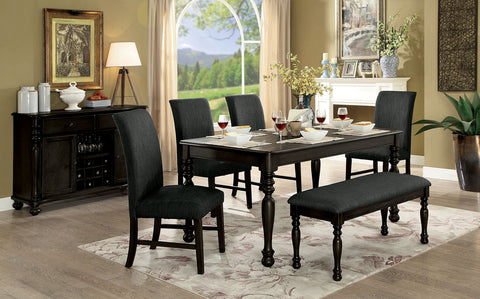 SIOBHAN II    6PC /DINING TABLE    /  CM3872DG-T