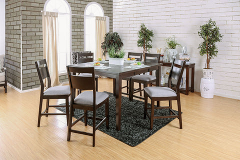 JOINVILLE II / 7PC COUNTER HT. TABLE  SET