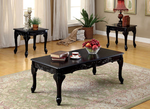 CHESHIRE 3 PC. TABLE SET    CM4914BK-3PK