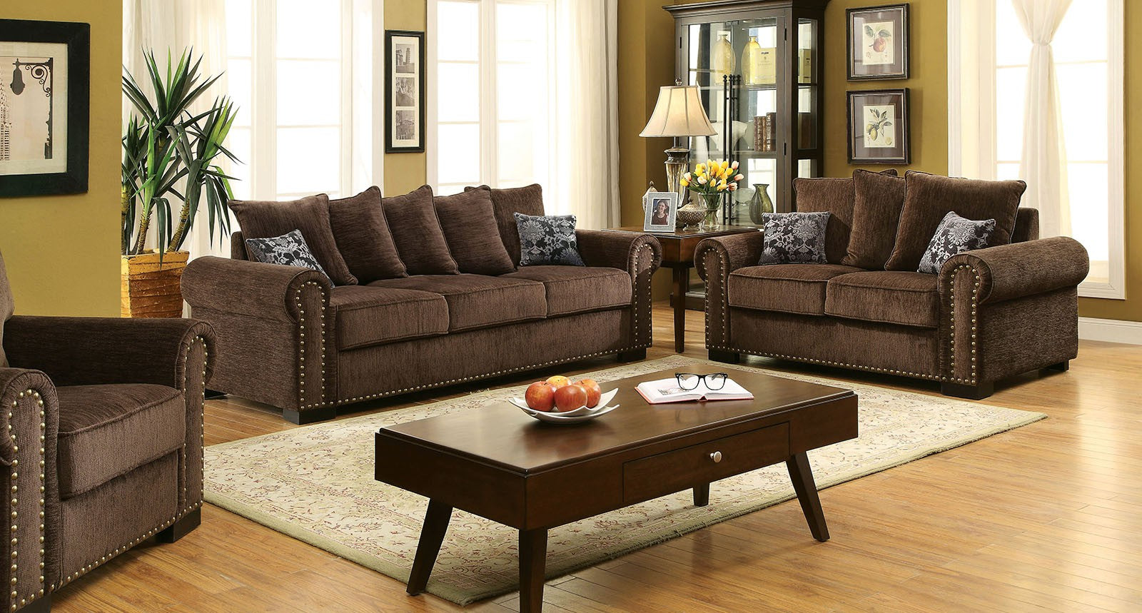 RYDEL  2PC SOFA & LOVESEAT SET