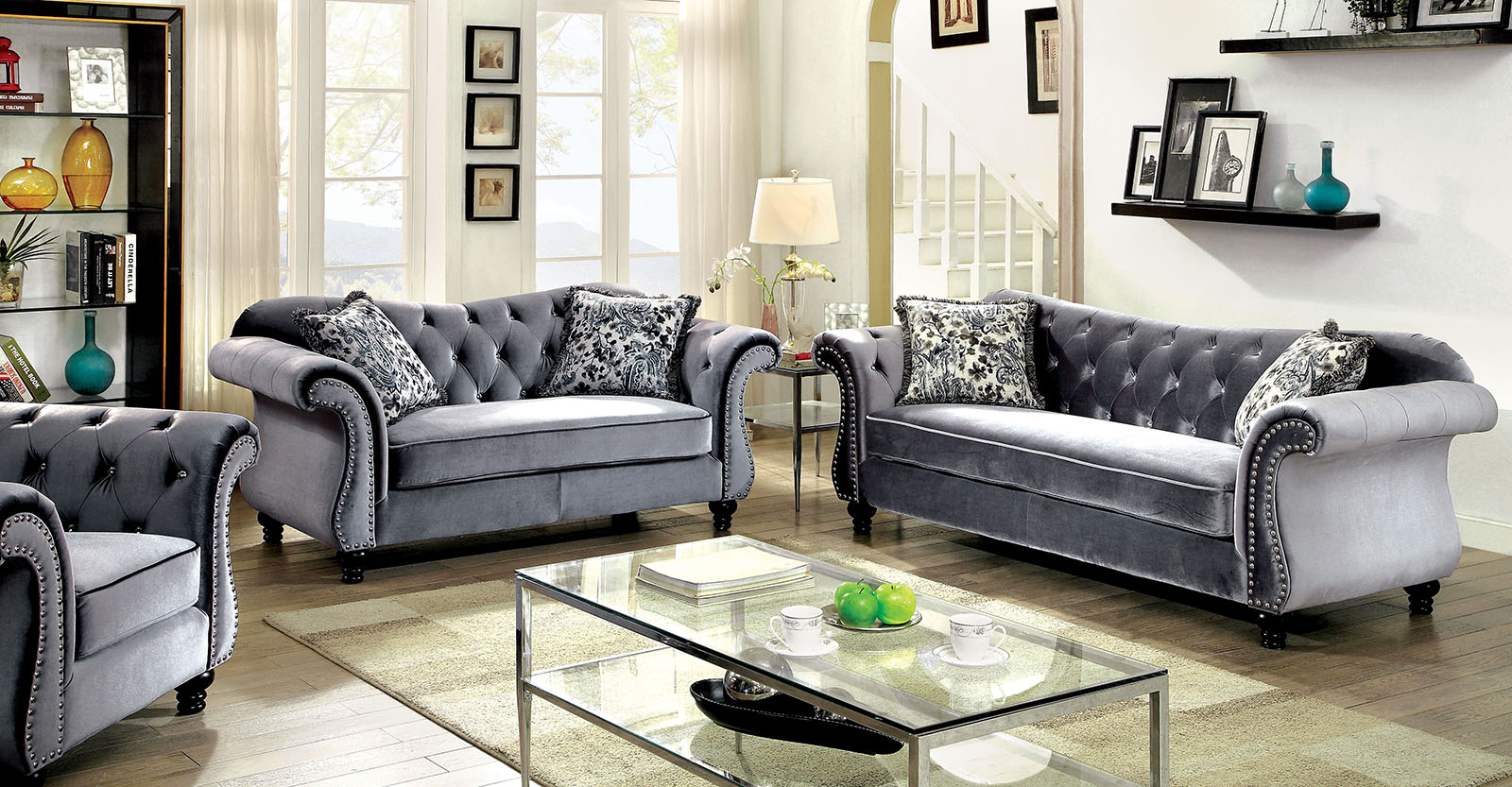 JOLANDA  2PC SOFA & LOVESEAT SET