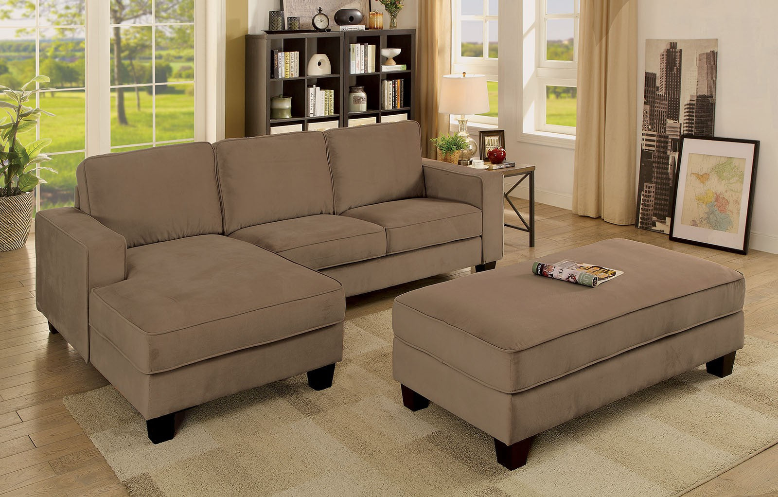 JANCIS SECTIONAL W/ OTTOMAN