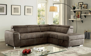 LORNA SECTIONAL  w/Storage Ottoman Included