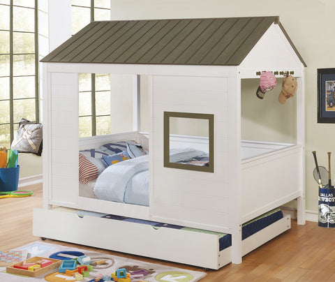 COBIN FULL SIZE HOUSE BED  /  CM7133