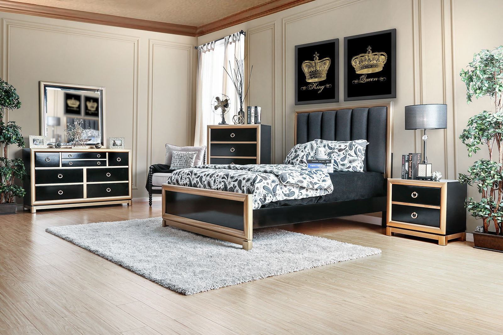 BRAUNFELS / 4PC QUEEN BEDROOM SET