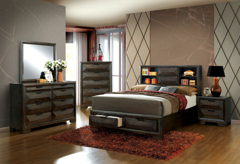 NIKOMEDES / 4PC QUEEN BEDROOM SET