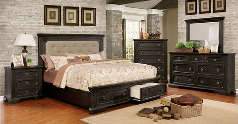 ROISIN /4PC QUEEN BEDROOM SET