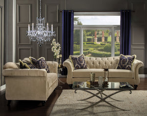 ANTOINETTE 2PC SOFA & LOVESEAT SET