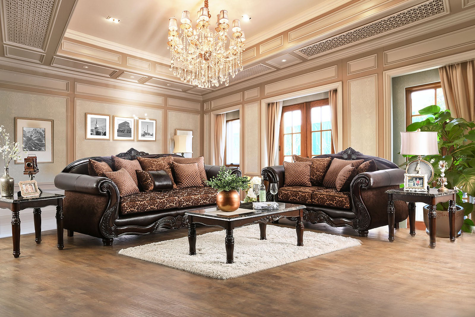 ELPIS 2PC SOFA & LOVESEAT SET