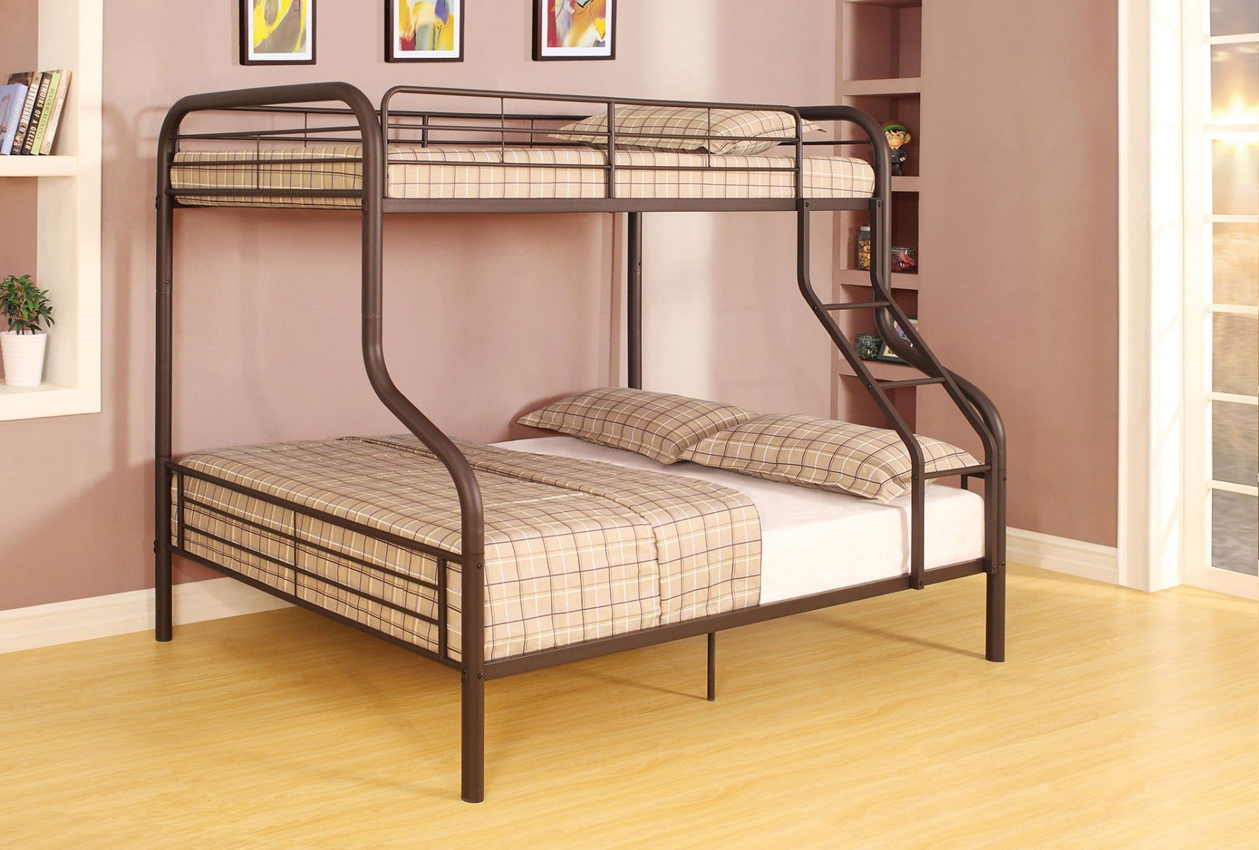 CAIRO TWIN/FULL BUNK BED /37610