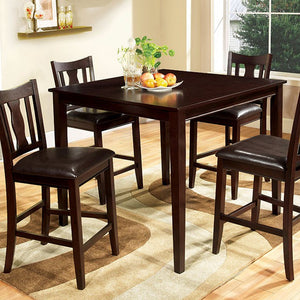 WEST CREEK II 5 PC. COUNTER HT. TABLE SET