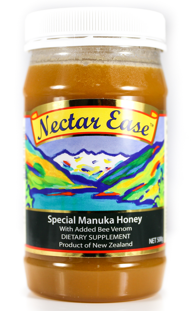 Nectar Ease ~ New Zealand Natural ~ Added Bee Venom