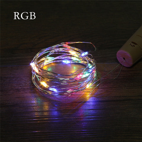 LED Garland Copper Wire String Lights For Glass DIY Craft Decoration - Hot Gifts For Christmas