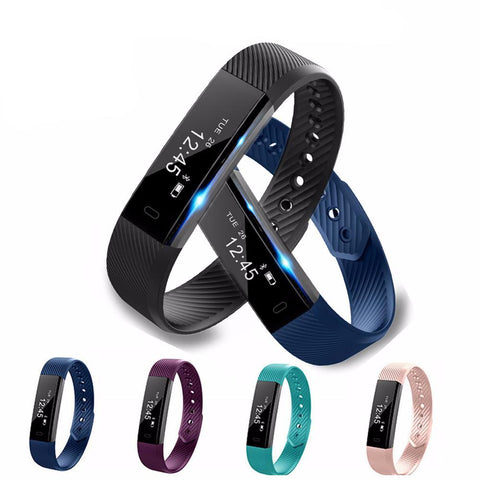 Image of $$FLASH SALE ITEM OF THE DAY$$ Slimline Smart Fitness Watch & Health Tracker - Hot Gifts For Christmas