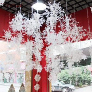 Christmas Party Snowflake Decorations
