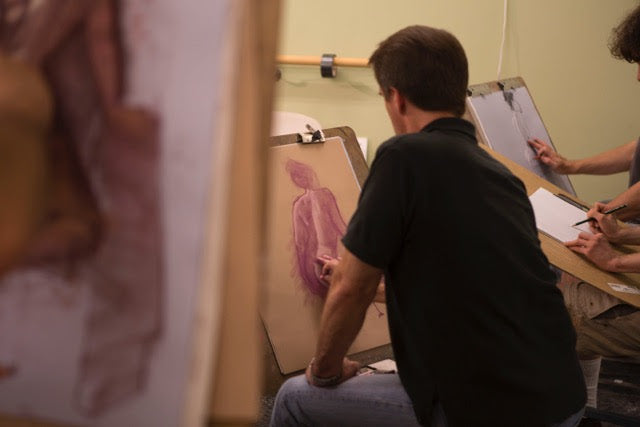 Observational Life Drawing Class with John English