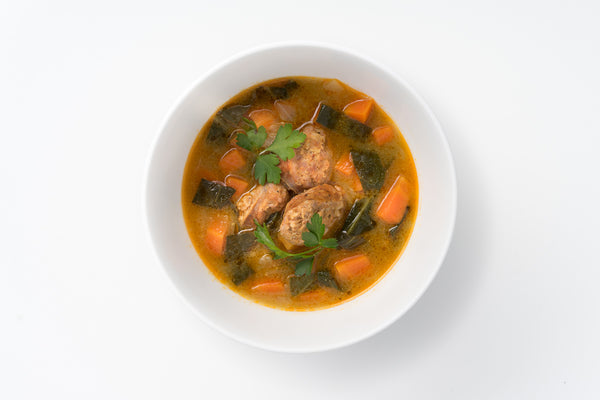 Andouille & Collards Soup