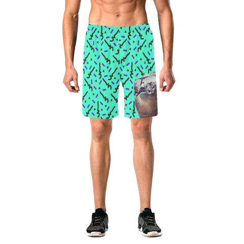 Retro Sloth Shorts