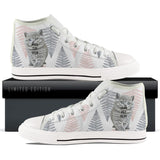 Custom Women's White High Tops