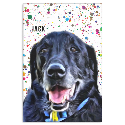 Jack Paint Canvas