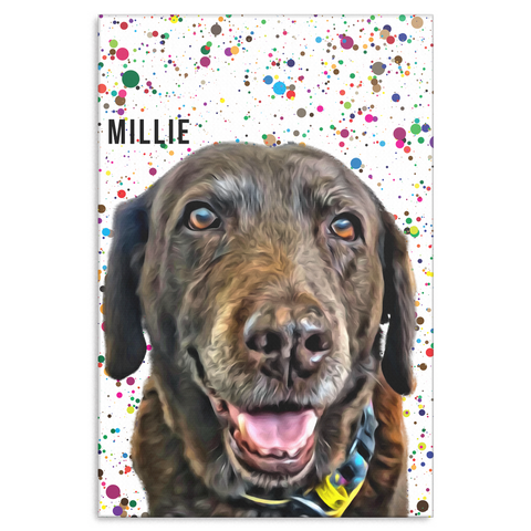 Millie Paint Canvas
