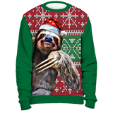 Old fashioned Christmas Sloth