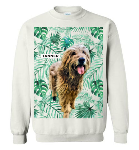 Tanner Crewneck with Palms