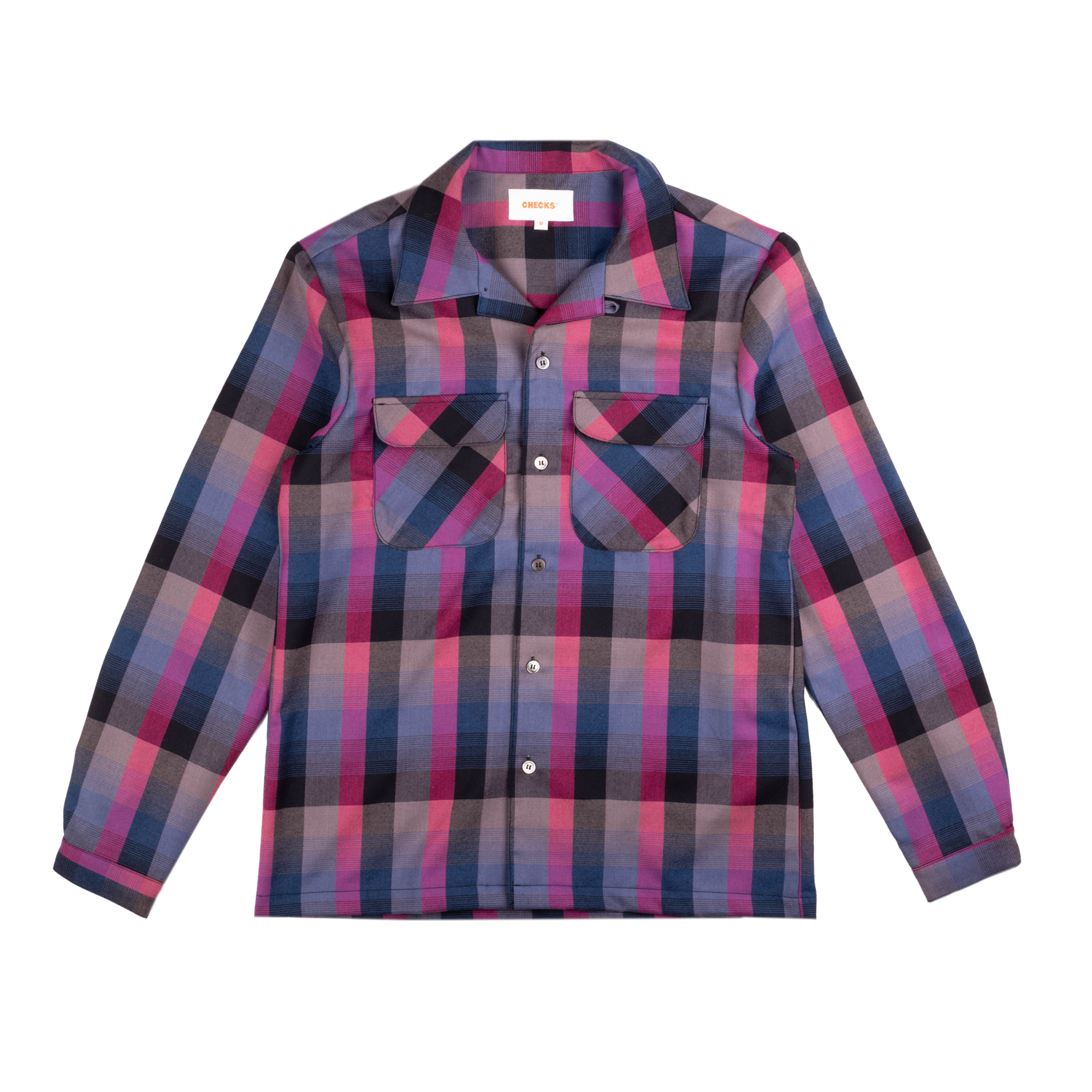 Load image into Gallery viewer, Rockabilly Shirt Grape Plaid | CHECKS DOWNTOWN  Edit alt text