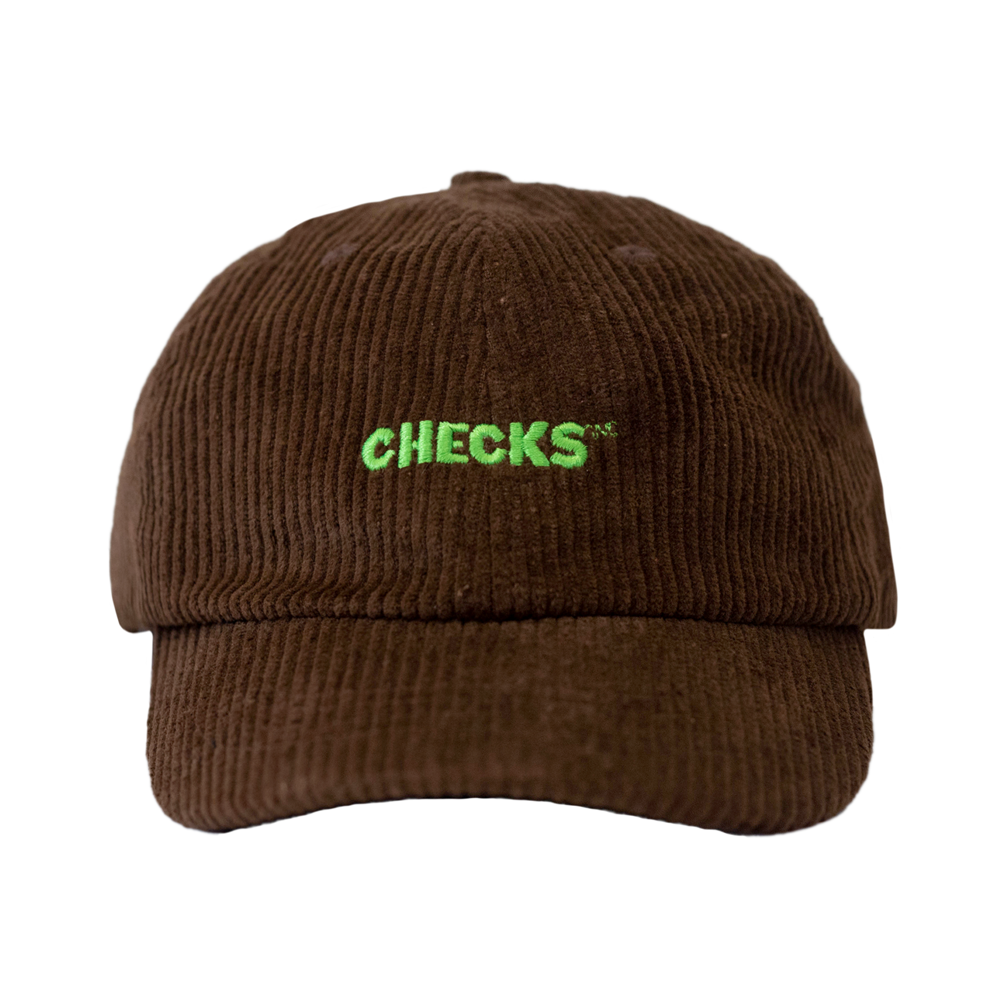 Load image into Gallery viewer, Corduroy Baseball Cap Chocolate | CHECKS DOWNTOWN