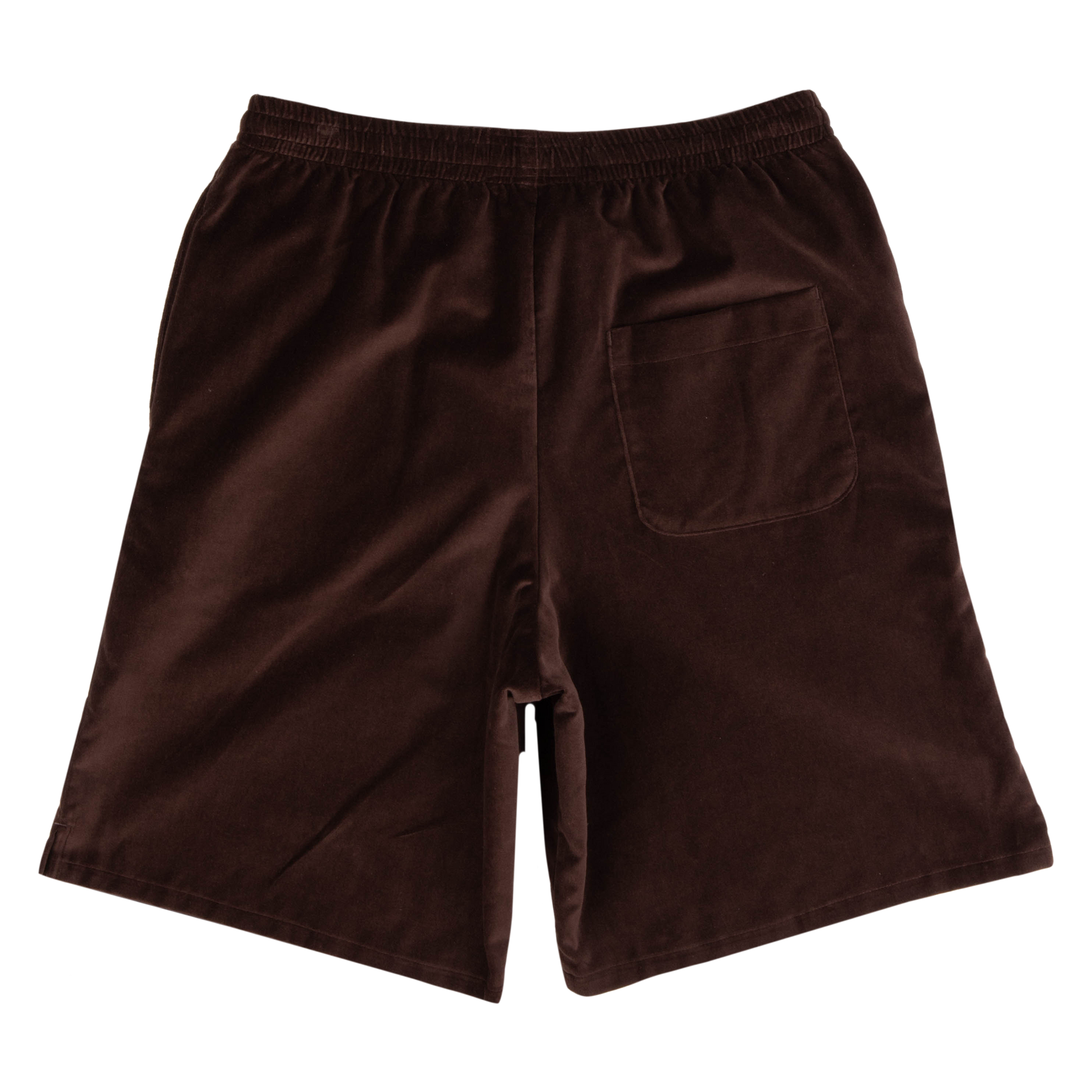Load image into Gallery viewer, Velvet Basketball Shorts Chocolate | CHECKS DOWNTOWN