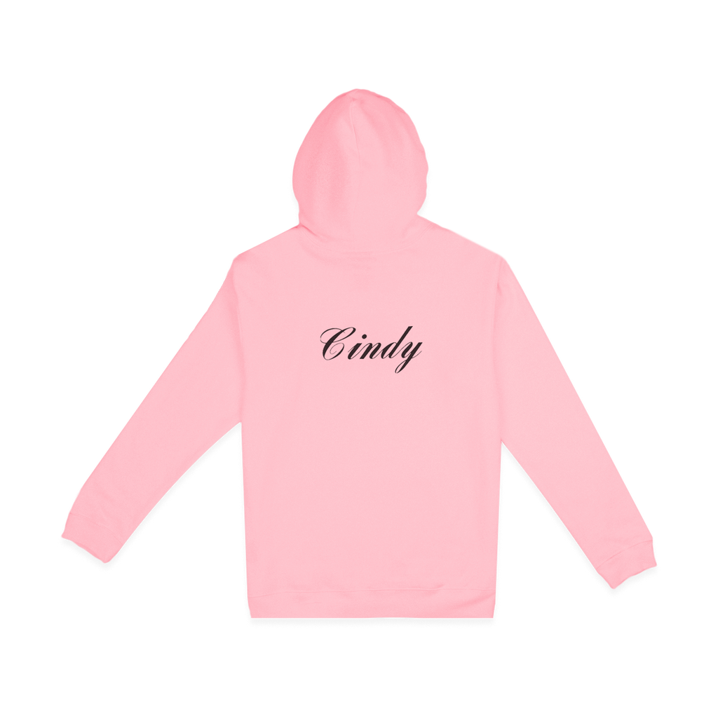 Cindy Hoodie Pink | CHECKS DOWNTOWN