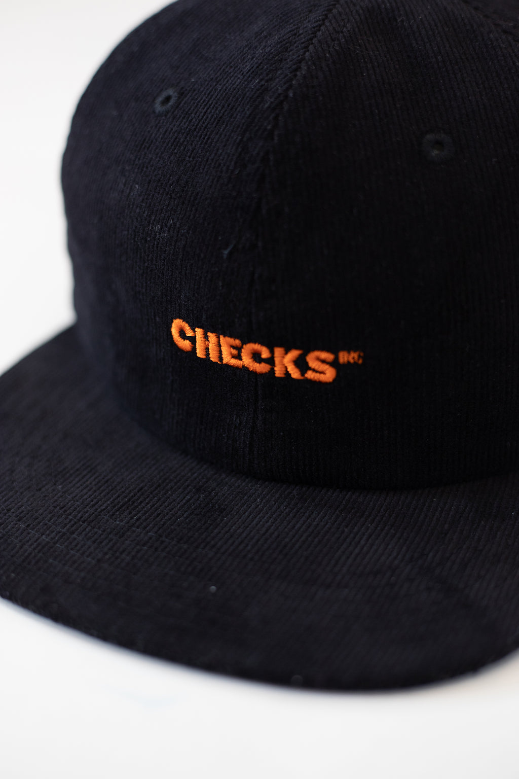Classic Cord Snapback Black | CHECKS DOWNTOWN