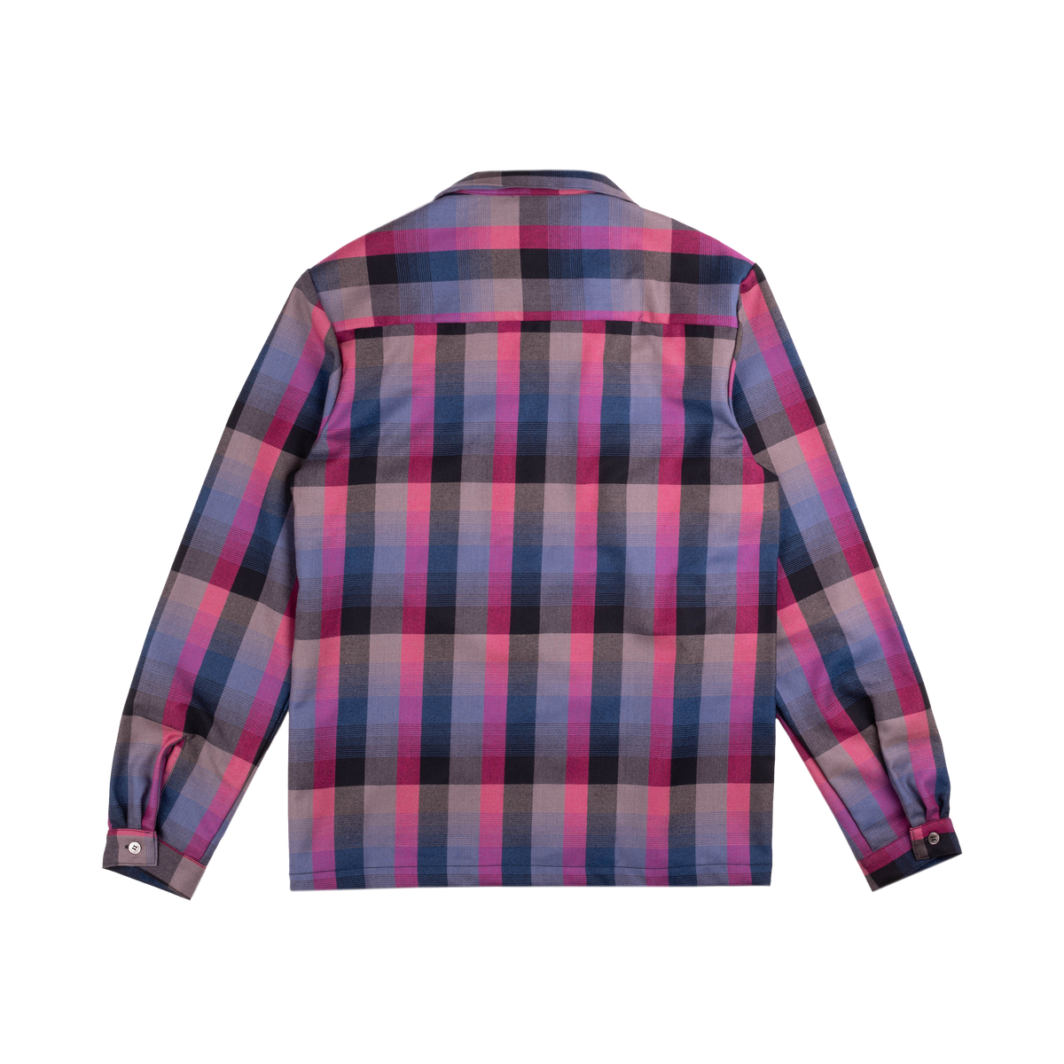 Rockabilly Shirt Grape Plaid | CHECKS DOWNTOWN