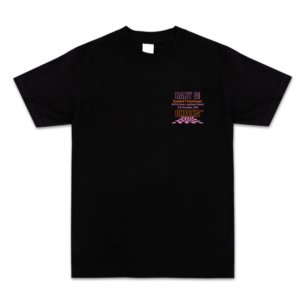 Checks x Baby G T-shirt Black