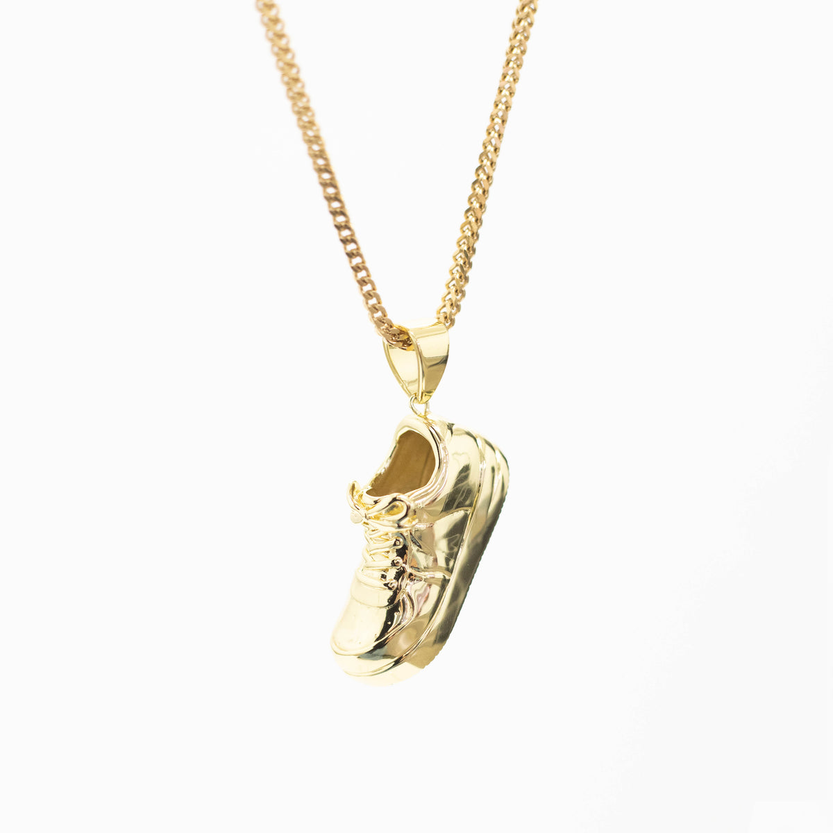 Uptown Pendant Gold | CHECKS DOWNTOWN
