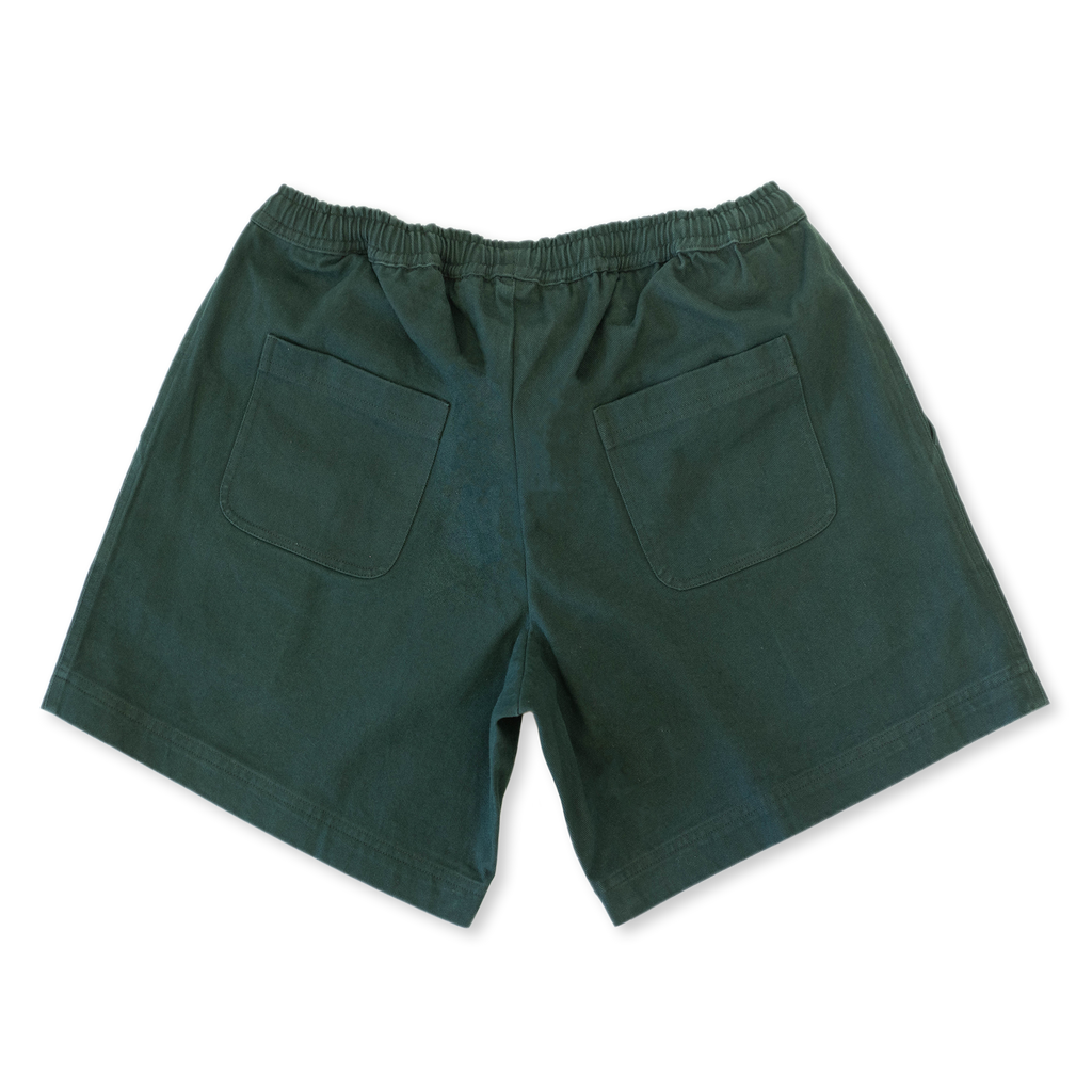 Easy Drill Shorts Emerald | CHECKS DOWNTOWN