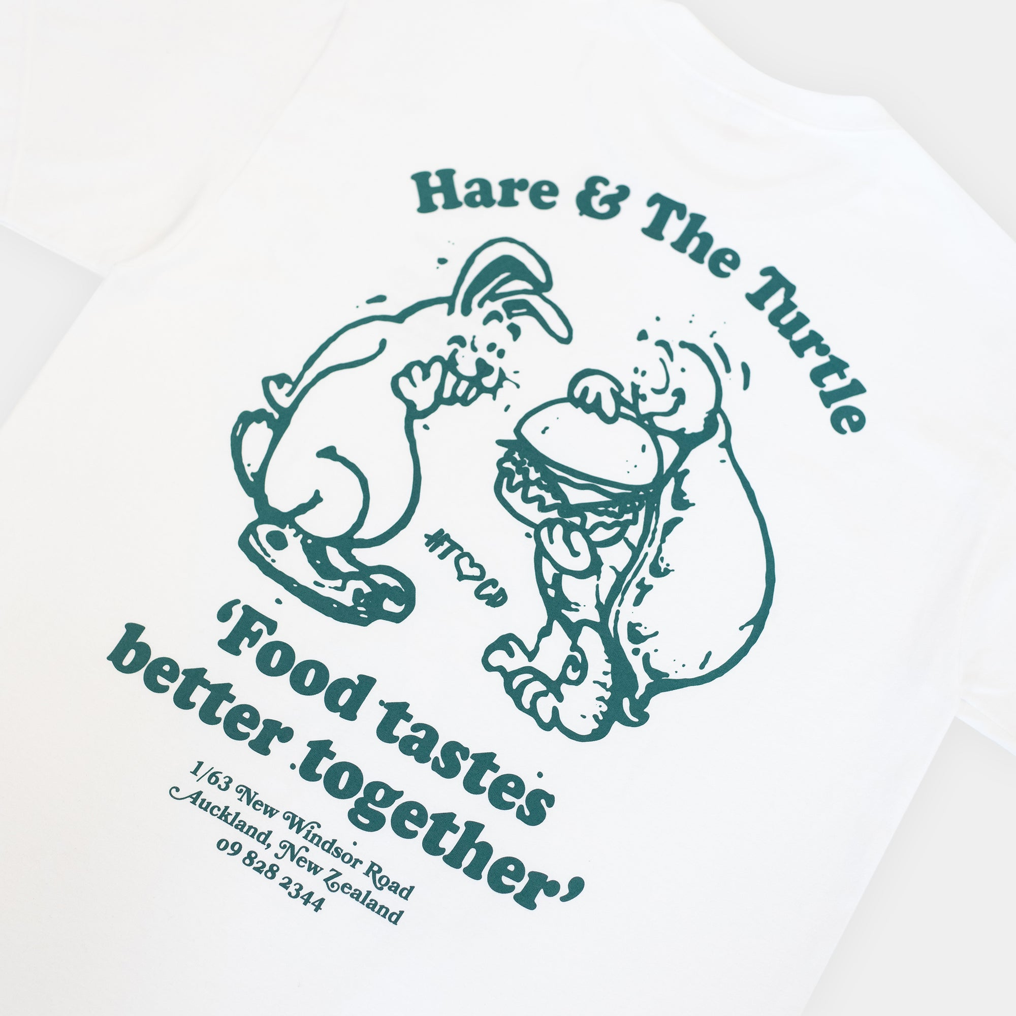 Load image into Gallery viewer, Checks x Hare & The Turtle T-shirt | CHECKS DOWNTOWN