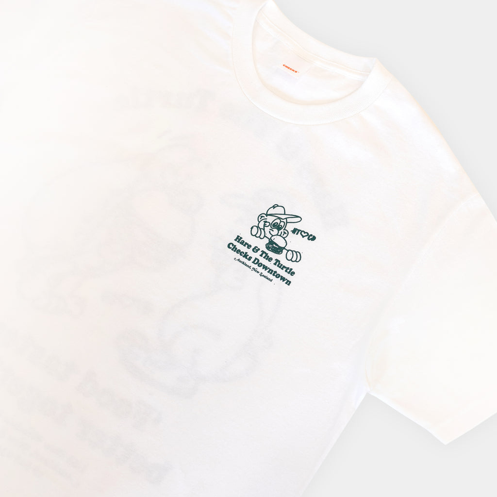Checks x Hare & The Turtle T-shirt | CHECKS DOWNTOWN