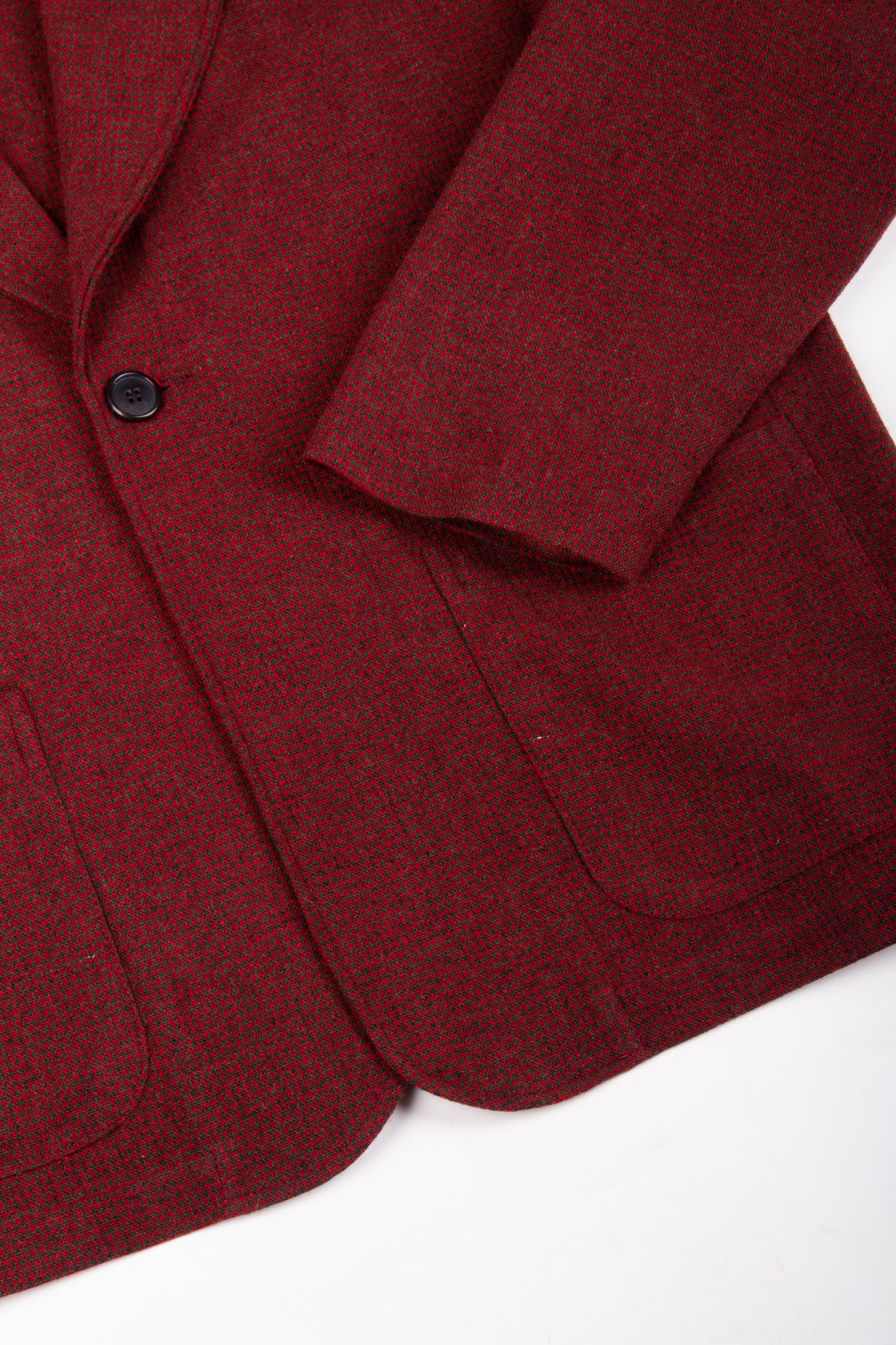 Mod Jacket Chilli Houndstooth | CHECKS DOWNTOWN